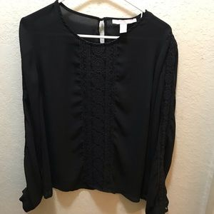 Forever 21 Contemporary Blouse with Lace
